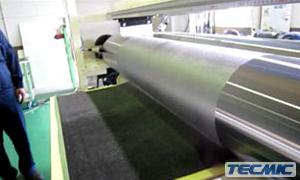 Hotmelt roll coater