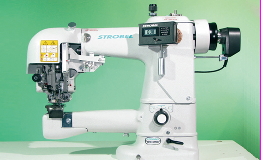 STROBEL 325-40DPT  Two thread felling machine for sleeve lining