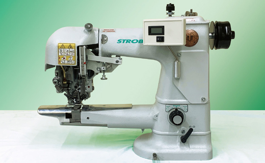 STROBEL 328D  Two thread felling machine for sleeve lining at the cuff of suits and coats