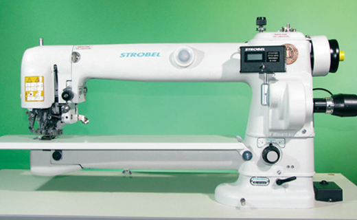 STROBEL 3100D-R  Two thread felling machine for half-lined suits
